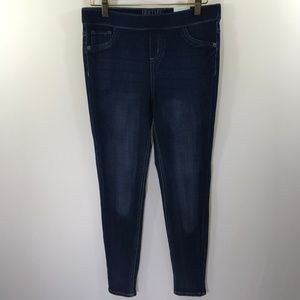 NWT Justice Mid Rise Jeggings Dark Wash Size 16